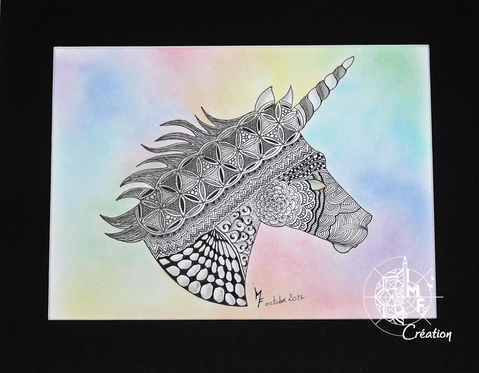 licorne portrait