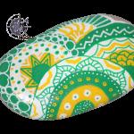 Zentangle-vert-jaune-galet-imfcreation-G0017