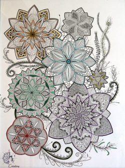 floral multicolor